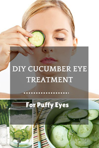 cucumber eye treatment puffy eyes
