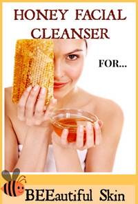 honey facial cleanser wash