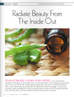 calm jodi brown radiate beauty article