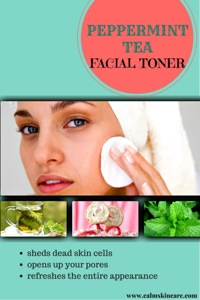 Peppermint Tea Facial Toner