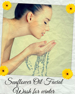 Sunflower Oil Facial Wash