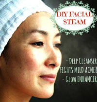 diy facial steam